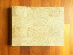 Solid Oak End Grain Tops 1200x620x50mm